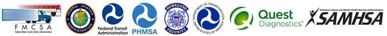 DOT Compliant Drug and Alcohol Testing Agencies - FMCSA, FAA, FTA, PHMSA, USCG, Quest Diagnostics, SAMHSA